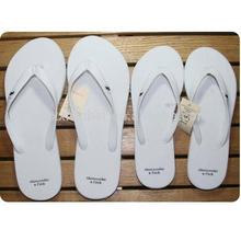 white beach concise personalized wedding pvc straps flip flops