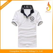 custom high quality fashion design t shirt polo