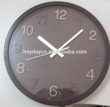 figure in 3d style wall clock