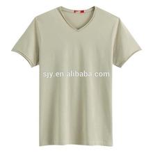 polyester fiber plain cheap promotion t-shirts for children