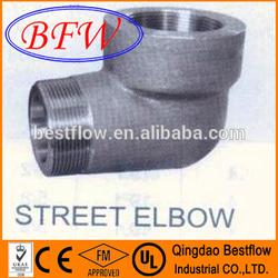Forged Steel High Pressure Socket Weld Pipe Fitting Street Elbow