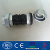 Double Sphere Expansion Joints Threaded Rubber Union Type