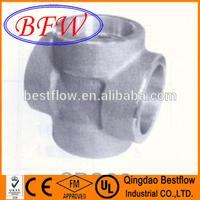 Forged Steel High Pressure Socket Weld Pipe Fitting Cross
