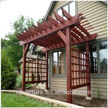 hot sale/PVC decorative lattice pergolas for romantic dinner/high temperature resistant/uv resistant/manufacturer
