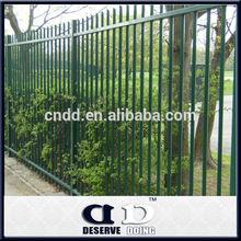 DD low price powder painted steel palisade fencing