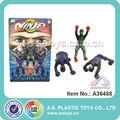 escalada ninja mini juguete de plástico suave