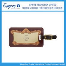 Fashionable Photo Frame Luggage Tag Promotional