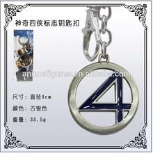 Fantastic Four Anime Keychain