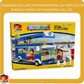 cidade double decker bus conjunto bloco de grandes blocos de brinquedo
