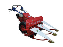 Popular on sale and easy operate new 4-stroke rice and wheat harvester machine