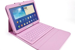 Wireless Bluetooth silicone Keyboard case cover For Samsung Tab 3 10.1 P5200 P5210 P5213