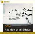 Nueva moda de diseño palabras de vinilo de pared de las cotizaciones, palabras de la pared etiqueta de hecho en china suppiler