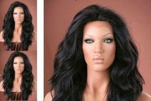 New Texture Brazilian Loose Wavy Front Lace Wigs With Baby Hair