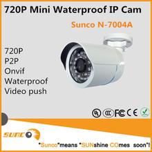 720p mini bullet camera waterproof security IP cctv camera, night vision, waterproof IP66, easy to install