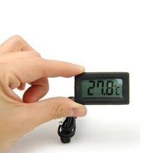 Mini LCD Aquarium/Incubator/Fish Tank Thermometer Digital Thermometer tpm-10 With PT100 Sensor
