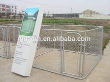 Outdoor Large Metal Chink Link Pet Dog Cage kennel.