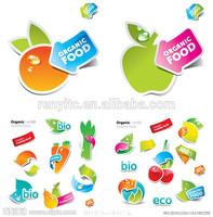 Permanent plastic thermal adhesive label,adhesive print roll sheet die cut custom stickers waterproof