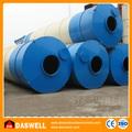de los tipos de instalación rápida y móvil de cemento de china de los silos de almacenamiento