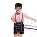 o novo estilo de uniforme escolar das crianças