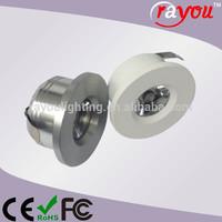 CREE Adjustable 1 Watt Recessed Led Mini Downlight/Cabinet Light