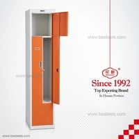 durable steel wardrobe lockers/ Promotional Best selling Manufacturer K-D Structure/ locker storage bins