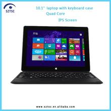 10 inch ultra slim mini laptops/HDMI G-sensor SIM slot BT4.0