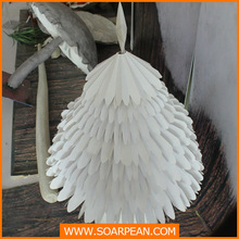 hot sale fashion white artificial paper Christmas tree