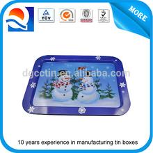Custom design multi-functional tin tray