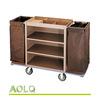 Housekeeping cleaning trolley, hotel housekeeping supplies, luxury serving carts