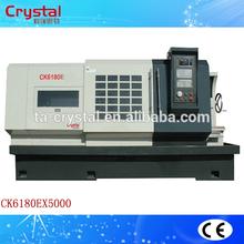 horizontal cnc lathe machine brand lathe machine price CK6180E