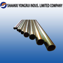 electroplated galvanized double welded round tube