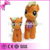 2014 hot sell solar horse plush toy