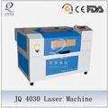 De corte por láser de la máquina/hoja de madera de corte con láser jq4030
