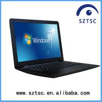 13.3 inch slim brand new laptop/RAM 2G/4G HDD 160G/250G/320G/ 500G netbook WinXP/7 Intel D2500 notebook pc