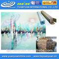 Meilleures ventes! Brillant numérique impression art toile en rouleau pour la décoration intérieure