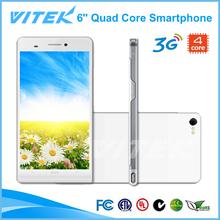 Android Dual SIM 3G Quad Core 6 inch Smartphone