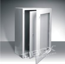 TIBOX Plexiglass door + Inner door wall mount enclosure(STIP)/IP66/TUV waterproof