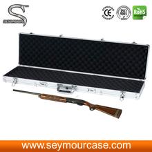 Gun Safe Resealable Aluminum Foil Packaging Bags Aluminum Carrying Case With EVA Mould