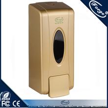 F1201 600ML liquid soap dispenser gold color,soap dispenser bathroom