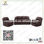 WorkWell cheap luxury PU leather living room sofa set Kw-Fu11(2)