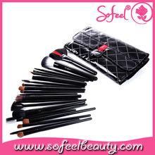 Sofeel 22pcs promotional cosmetic brush set brush cosmetic sets