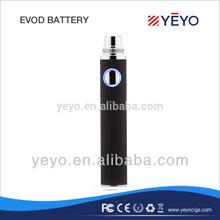 e-cigarette eVod VV battery, Variable Voltage eVod Battery