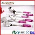 2014 nuevo diseño d0401-d0409 utensilios no- palo de utensilios de cocina y cocinero de consumo