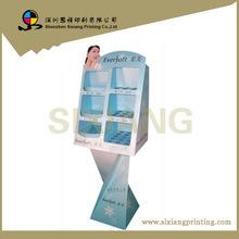 Fancy cosmetic exhibition pop up shelf