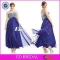 E311 maßgeschneiderte a- linie Schatz ärmellosen bling bling mieder großhandel plus size maxi dress
