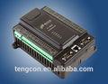 Profesional amplias de la temperatura del plc tengcon t-919 controlador plc para el compresor de aire