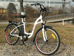 NEW Model 250W electric bike white color new chopper