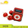 mini alarm clock radio speaker with usb