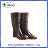 High Quality Ladies Classic Fashion High Retro Rubber Rain Boots