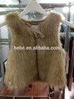 kids style sweet faux fur vest